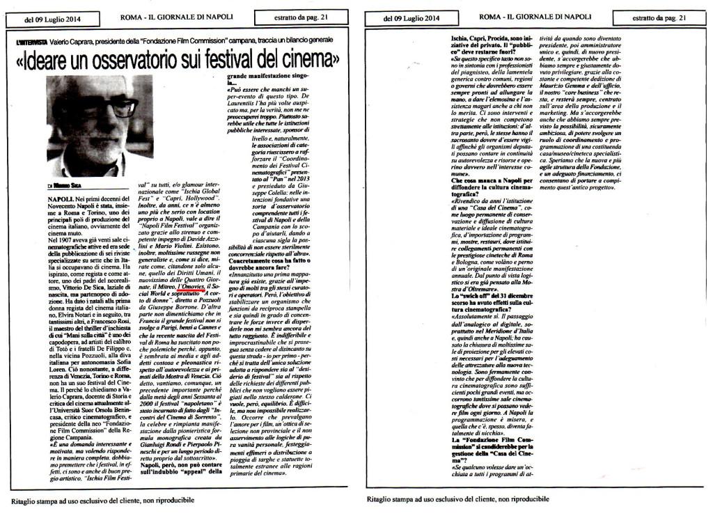 Articolo Valerio Caprara su Roma - omovies (1) red tutto