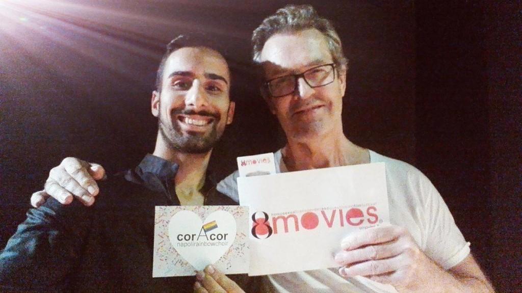 Rupert Everett #super #testimonial di #OMOVIES e #corAcor #NapoliRainbowChoir con #GerardoPapa