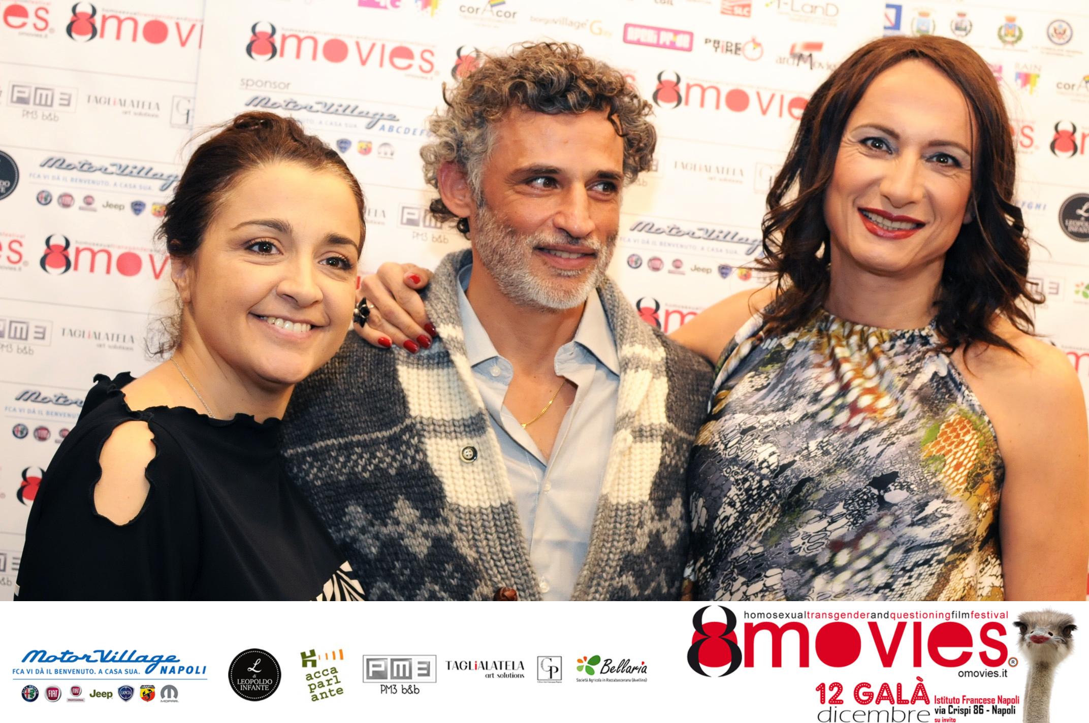 Giovanna Panico, Vladimir Luxuria ed Enrico Lo Verso