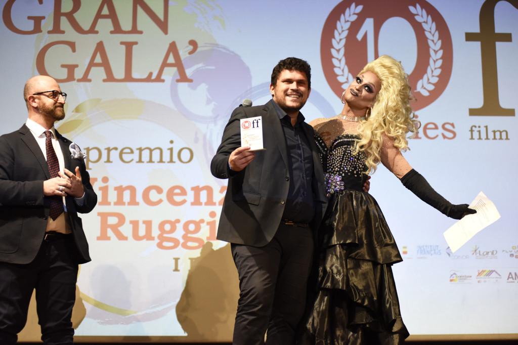 il vincitore del premio Vincenzo Ruggiero - Sezione Corti - Lettera a sua Figlia - Giuseppe Nuzzo off10