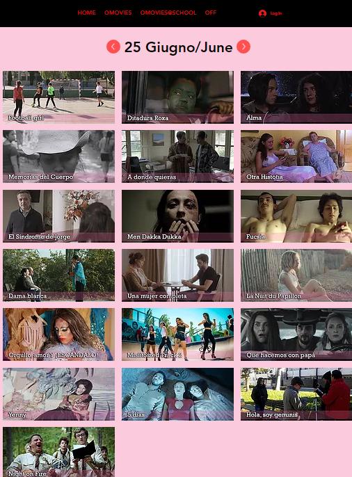 Screen Omovies@School International Film Festival VOL.5