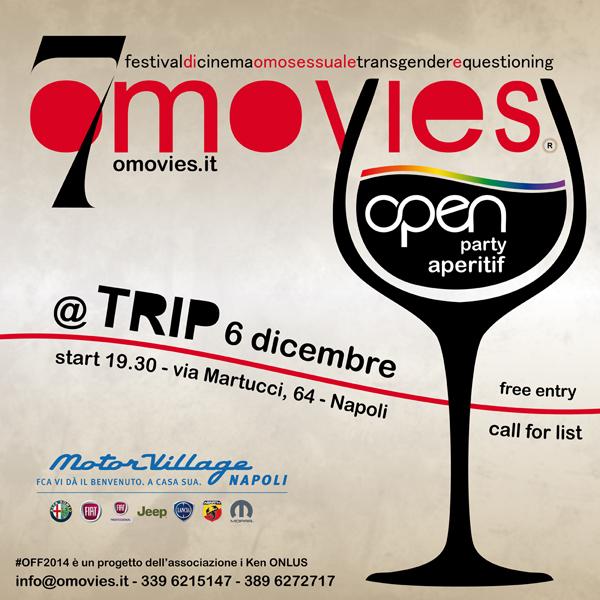 Aperitif Open Party – #OFF2014 @ Trip Napoli Start 19:00
