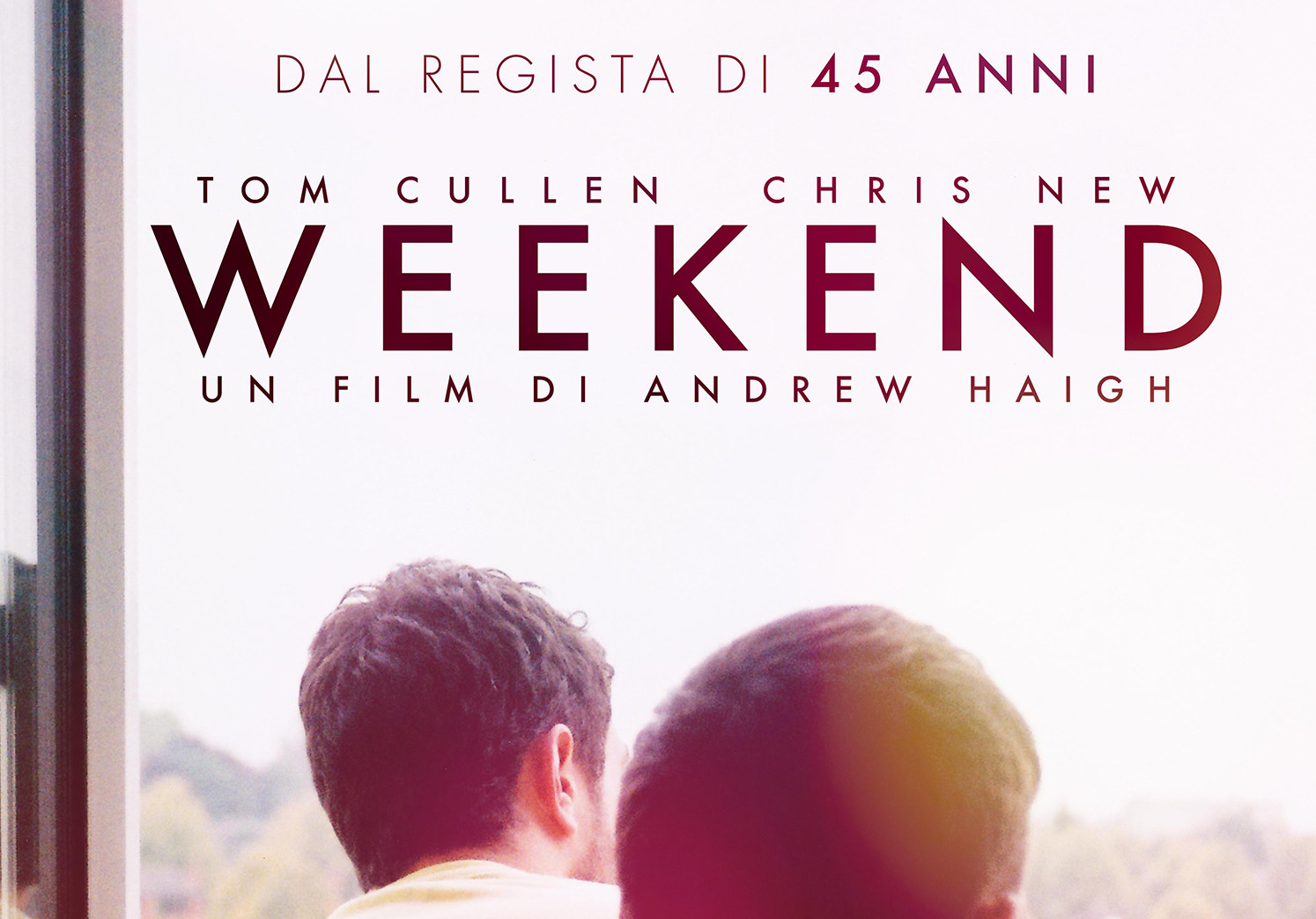 WEEKEND esce in 10 cinema in tutta Italia