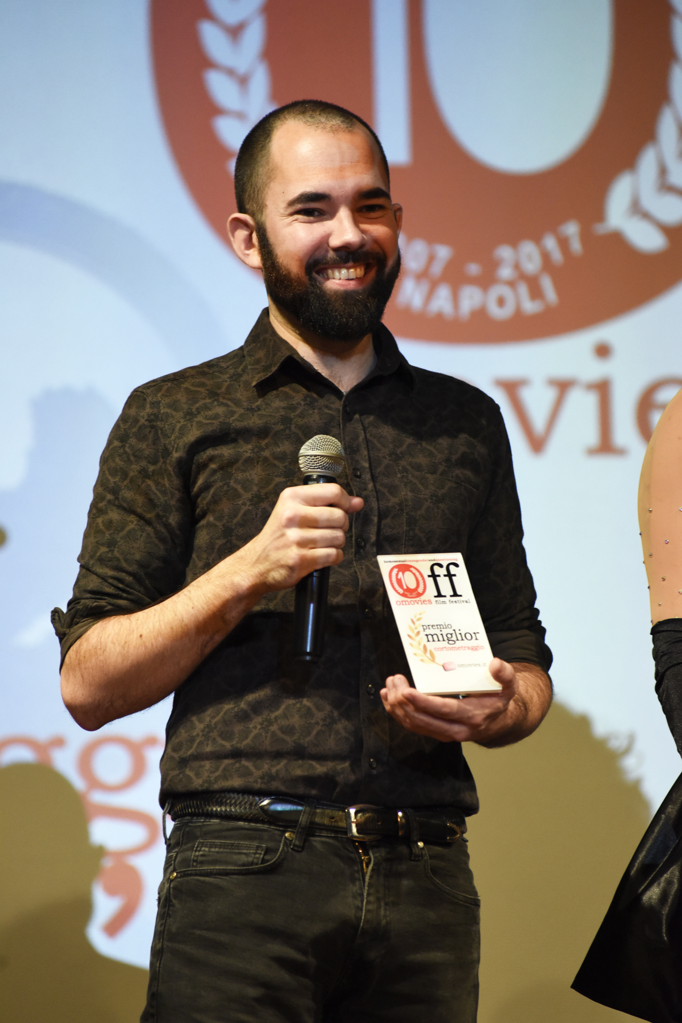 #interview the #director of the short film #Tristan #winner of the omovies film festival, Mr. Sonam Larcin #Off10