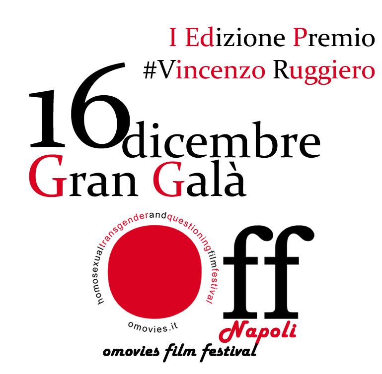 16 Dicembre il Gran Galà è premio #VincenzoRuggiero 1a Edizione