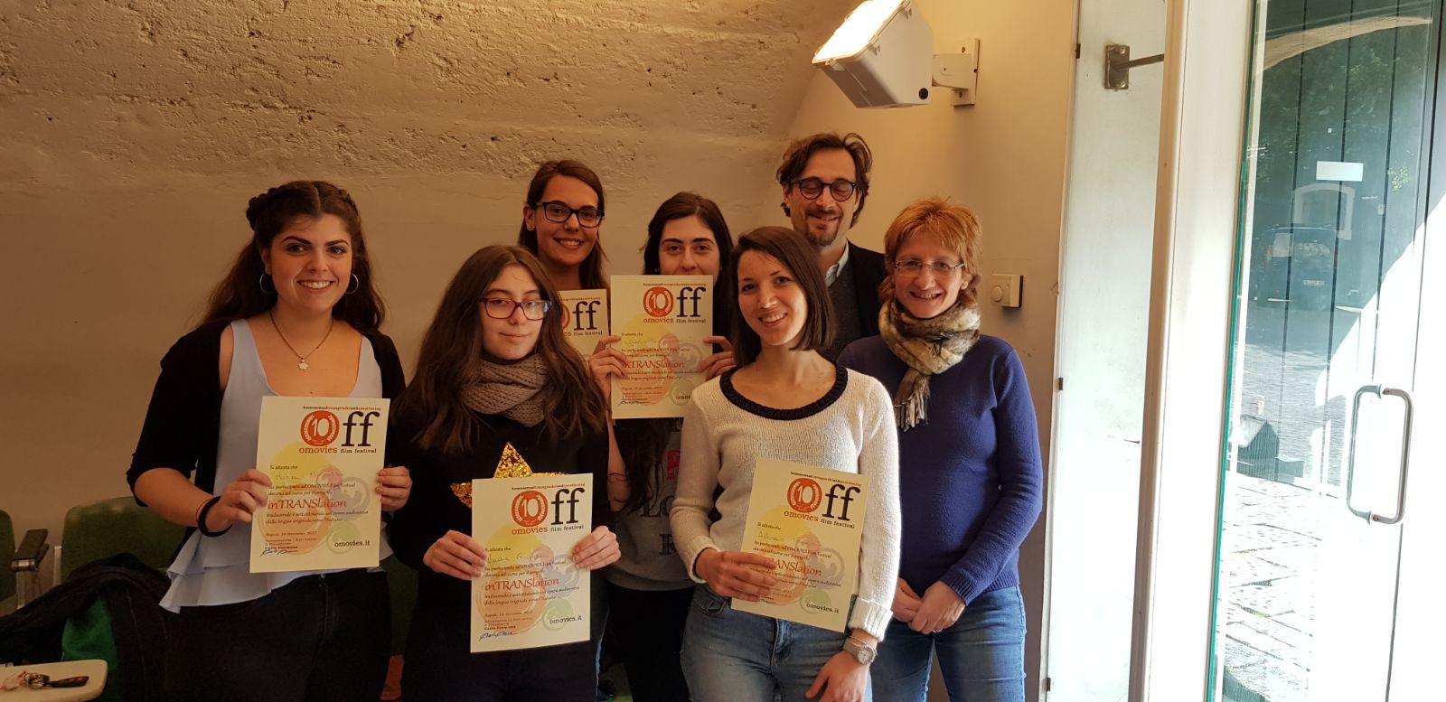 Off10 – #inTranslation foto consegna attestati #studenti #lingue #uni #catania