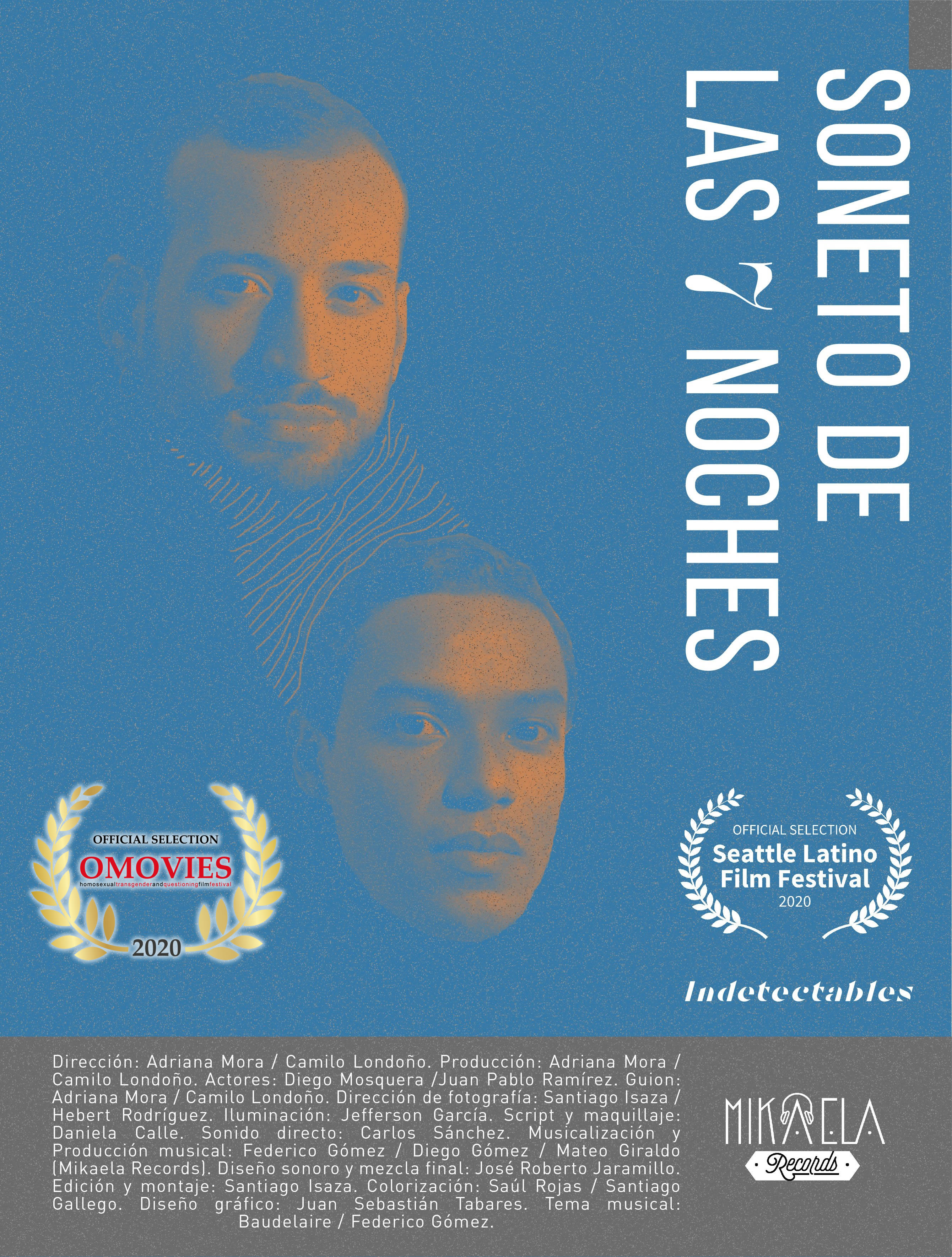 Soneto de las 7 noches – DirectorAdriana Mora e Camilo Londoño 21 DEC