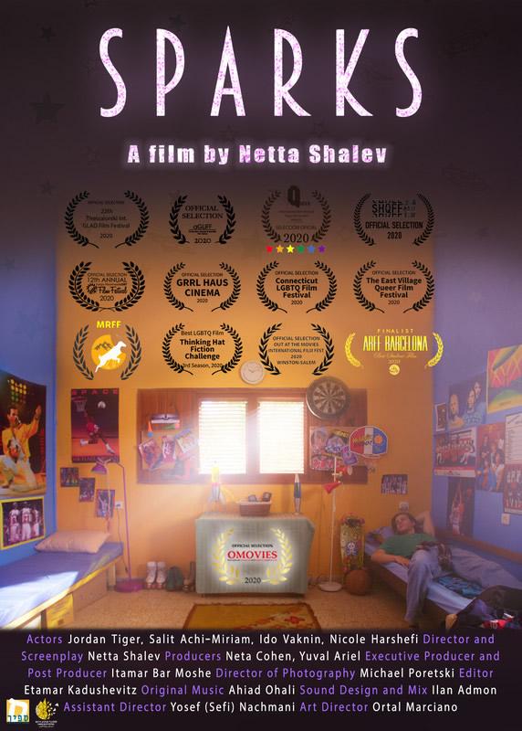 Sparks – DirectorNetta Shalev Dec 19