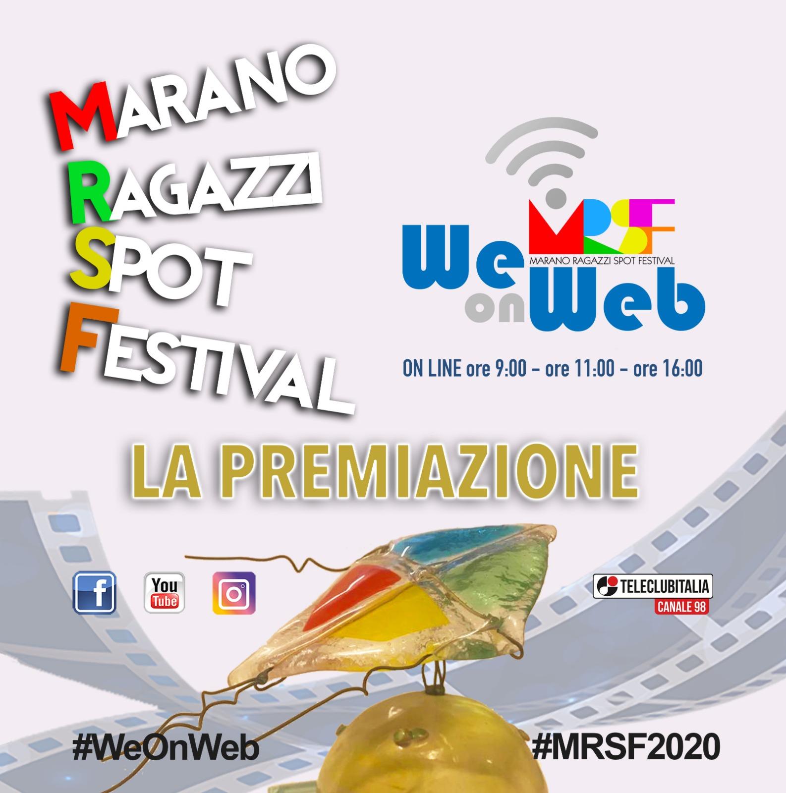 Premiazione Marano Ragazzi Spot Festival