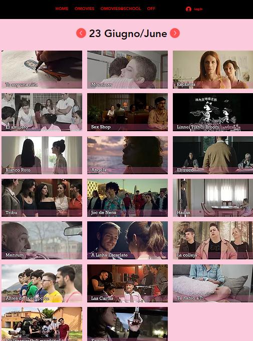 Screen Omovies@School International Film Festival VOL.3